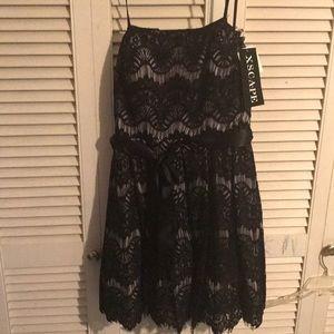 Womens Black Lace dress